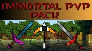 Immortal PvP Pack - Размер 16 на 16 (1.14.4, 1.13.2, 1.12.2, 1.8.9)