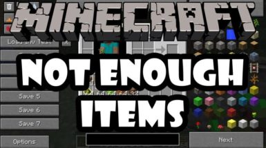 Not Enough Items - NEI (1.12.2, 1.11.2, 1.10.2, 1.7.10)