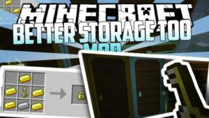Better Storage Too - сундуки на 200 слотов (1.15.2, 1.14.4, 1.12.2, 1.11.2)