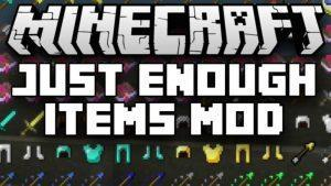 Мод Just Enough Items JEI - на русском языке (1.15.2, 1.14.4, 1.12.2, 1.7.10)