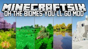 Oh The Biomes You'll Go - 45 новых биомов (1.15.2, 1.14.4, 1.12.2)