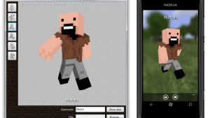 Minecraft Skin Viewer - Win/WP (1.8, 1.8.9, 1.9)