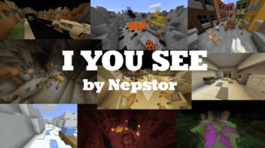 I You See by Nepstor - карта по поиску кнопок (1.15.2)