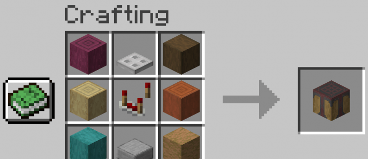 Automated Crafting - новый вариант верстака (1.16.1, 1.15.2)