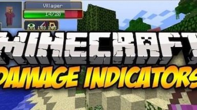 Damage Indicators by ToroCraft - модификация мода Damage Indicators (1.16.4, 1.15.2, 1.14.4, 1.12.2)